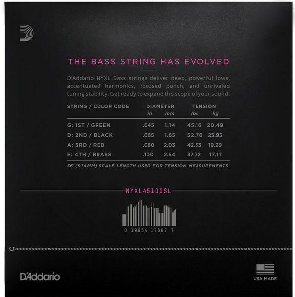 045-130 SADOWSKY Blue Label Bass String Set Stainless Steel 5-Saiter
