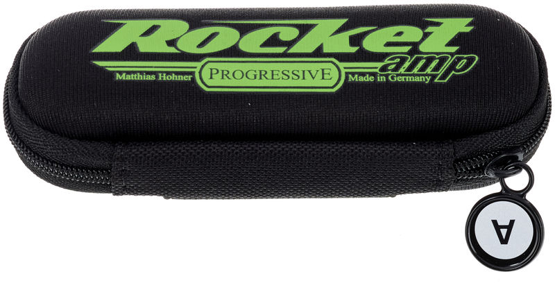 NEW HOHNER M2015BX Rocket Amp Progressive Key of F Harmonica MADE IN GERMANY