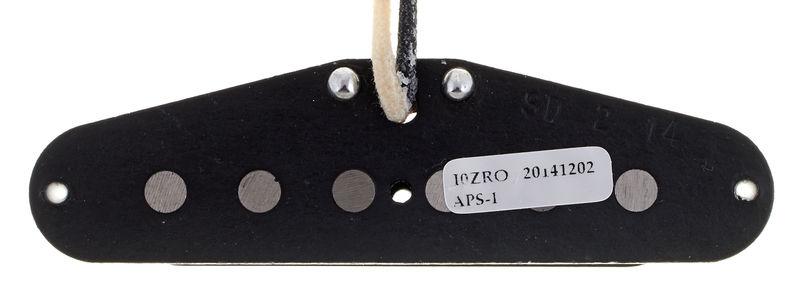 No Logo NEW Black Seymour Duncan APS-1 Alnico 2 Staggered Vintage Strat Pickup
