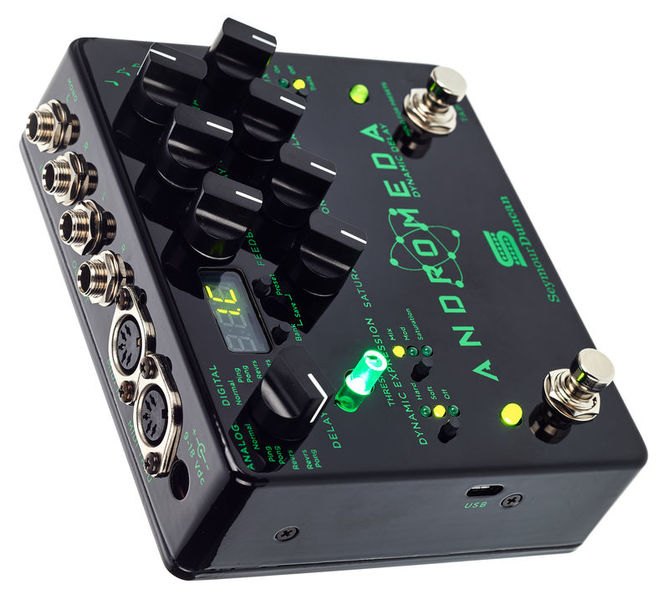 NEW Seymour Duncan Andromeda Dynamic Delay Guitar Effects Pedal